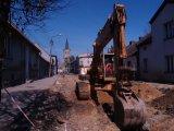 Podczas przebudowy ulicy Krakowskiej