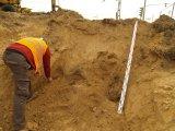 Przy pracach ziemnych na Darwina ekipa znalazła kości ludzkie