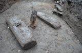 Kościoła Św. Walentego nie znaleźliśmy, tylko chodniki drewniane